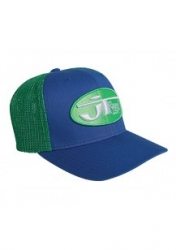TRUCKER HAT WITH MESH blue-green